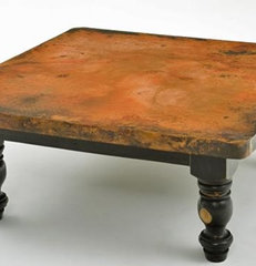 eclectic coffee tables by Woodland Creek Furniture
