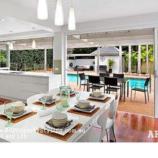 Modern Dining Room by BG Property Styling