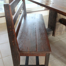 Traditional Dining Benches by Restoring Texas