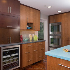 contemporary kitchen by Divine Kitchens LLC