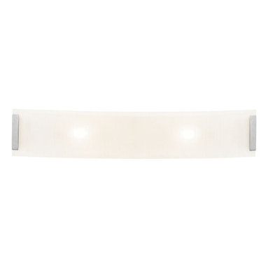 """Access Lighting - Access Lighting 62234 Three Light Ambient Lighting 32"""" Wide Bathroom Fixture fro - *Three light bath bar featuring line frosted glass"""