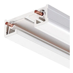 Juno Lighting - Juno R6 Trac-Lites 6-Ft Single Circuit Track, R6wh - Reduced-profile, single-circuit trac sections for surface or pendant mounting. Compatible with a full range of feed, connector and mounting accessories. Accepts all Trac-Lites and Trac-Master fixtures.