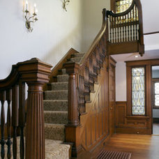 Traditional Staircase by AbbeyK, Inc.