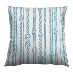 Guildery - Square Pillow Cover in Gondwana - 24x24 knife edge pillow cover with concealed zipper, no piping. Pillow insert not included.