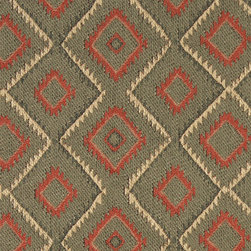 P4797-Sample - This southwest chenille upholstery fabric is great for all indoor upholstery applications. This material is uniquely soft and durable. Any piece of furniture will look great upholstered in this material!