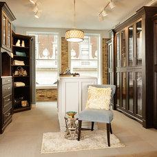 Contemporary Closet Organizers by Custom Closets & More...