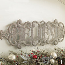 Contemporary Christmas Decorations by FRONTGATE