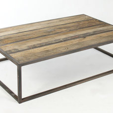 eclectic coffee tables by Coach Barn