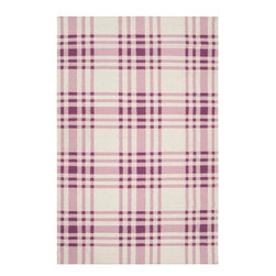 Country Living - Country Living Happy Cottage Flatweave Hand Woven Wool Rug X-118-6085CH - From Country Living the Happy Cottage collection offers classic cottage inspired style in a fresh and cheerful color palette. Designs include classic farmhouse stripes, bold plaids, and vintage patterns, transforming any space into a cozy retreat. These flat pile reversible rugs are hand woven in India from 100% wool.