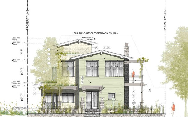 Traditional Exterior Elevation by Dylan Chappell Architects