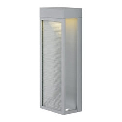LBL Lighting - LBL Lighting Moi 18 LED 277V 1 Light Outdoor Wall Sconce - ADA Compliant - Features: