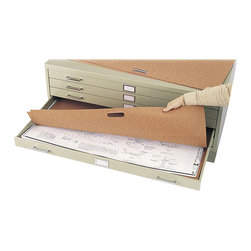 "Safco - Safco 42"" x 30"" Fiberboard Flat Files Portfolio (Set of 10) - Safco - Filing Cabinets - 3012 - This drawing plan file portfolio lets you keep related drawings together for added organization and safe and easy transportation. Cut down the time you spend searching for materials and minimize handling wear and tear with your Plan File Portfolio."