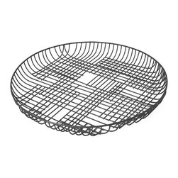 Pehr Designs - Wire Tray, Charcoal - An exciting addition to the Pehr collection, our new wire trays and bowls make a subtle statement while being completely functional. Available in three colors, you ll find a use for the in any room of the home.