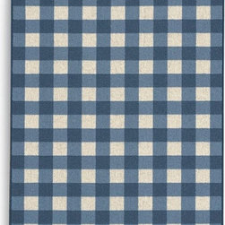 Showroom Products - This plaid area rug is offered in standard and custom sizes,  Made of 100% New Zealand wool.  Woven back for added durability.  Purchase at Hemphill's Rugs & Carpets Orange County, California.  www.RugsAndCarpets.com