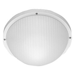 Progress Lighting - P5702-30 Polycarbonate Outdoor One-Light Wall or Ceiling Mount White - Polycarbonate light for indoor and outdoor areas. Colors will not fade and parts will not corrode. UV stabilized. UL listed for wet locations. Mount on walls or ceilings.