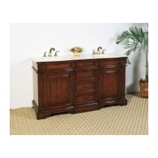 """Legion Furniture LF18 60.5"""" Sink Chest Without Faucet - Backsplash Available"""