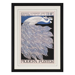 Paragon - The Modern Poster, 1895 - Framed Art - Each product is custom made upon order so there might be small variations from the picture displayed. No two pieces are exactly alike.