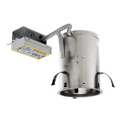 """Juno Lighting - ICPL526RE 5"""" IC Rated Remodel Housing - 26W Triple Vertical CFL - Housing only. Bulb and trim sold separately."""