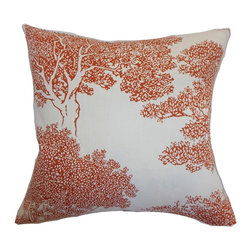 Pillow Collection - The Pillow Collection Juara Tree Pillow - P18-D-20958-BLACK-C55L45 - Shop for Pillows from Hayneedle.com! Climb up and swing from the branches of style with The Pillow Collection Juara Tree Pillow. Made of 55% soft cotton and 45% linen this stunning square pillow features a plush 95/5 feather/down insert for an ultra-soft feel. This beautiful outdoor view is sure to add a modern flare to any room. Available in a variety of colors so you can get the perfect look for your home.About The Pillow CollectionIdentical twin brothers Adam and Kyle started The Pillow Collection with a simple objective. They wanted to create an extensive selection of beautiful and affordable throw pillows. Their father is a renowned interior designer and they developed a deep appreciation of style from him. They hand select all fabrics to find the perfect cottons linens damasks and silks in a variety of colors patterns and designs. Standard features include hidden full-length zippers and luxurious high polyester fiber or down blended inserts. At The Pillow Collection they know that a throw pillow makes a room.