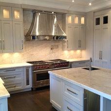 Modern Kitchen Hoods And Vents by Custom Range Hoods