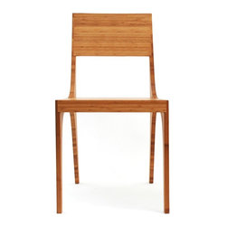 Kalon Studios - Kalon Studio's Bamboo Isometric Chair - Oiled bamboo