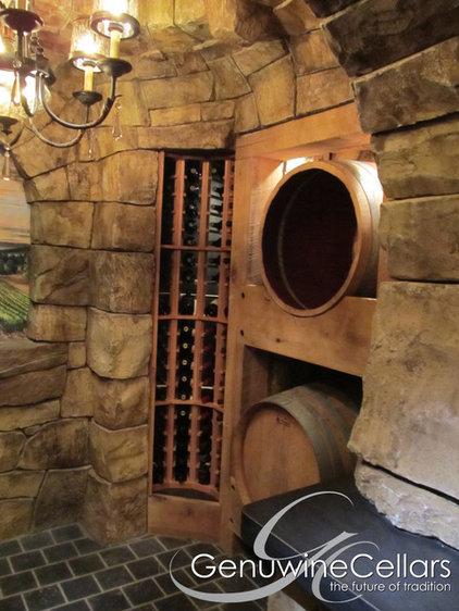 Mediterranean Wine Cellar by Genuwine Cellars