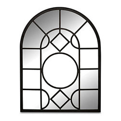 "Improvements - Decorative Acrylic Wall Mirror - The Decorative Acrylic Wall Mirrors are safe to use outdoors. These arched garden mirrors can be used together or separately. The Decorative Acrylic Wall Mirrors make small spaces seem larger. Use our shatterproof Decorative Acrylic Wall Mirrors to add depth and drama outdoors. With their graceful arched design and geometric panes, these Decorative Acrylic Wall Mirrors make a stunning statement in spaces small or large. Position the Decorative Acrylic Wall Mirrors on balconies, in gardens or courtyards to capture enchanting reflections from fountains, flowerbeds or statuary. Weather-safe and unbreakable, these outdoor mirrors are made of black metal with reflective acrylic. On the back of each Decorative Acrylic Wall Mirror is a keyhole for mounting. Use the Large Decorative Acrylic Wall Mirror (23-1/2""W x 30-1/2""H) by itself, or add the side panels for added impact.Benefits of the Decorative Acrylic Wall Mirror:"