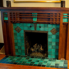 Fireplaces by Wiesener Tile Studios