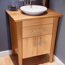 Contemporary Bathroom Vanities And Sink Consoles by Heather and Fred Studios