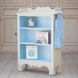 Harry's Collection by Bradshaw Kirchofer Handmade Furniture - Harry's Bookcase brings both charm and warmth to a child's playroom or bedroom. It boasts beautiful curved detailing with three shelves to display your most precious items. Crafted using traditional mortise and tenon joinery. It may be ordered with: