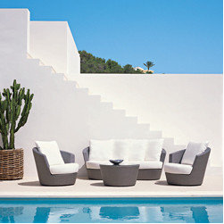 Mediterranean Outdoor Chaise Lounges -