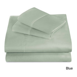 None - Best Night's Sleep 440 Thread Count Supima Cotton Sheet Set - The Best Night's Sleep sheet set provides both a luxurious look and comfort. Constructed of 440 thread count supima cotton,this sheet set inhibits the growth of harmful microbes and bacteria using the latest nanotechnology.