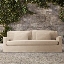 traditional outdoor sofas by restorationhardware.com