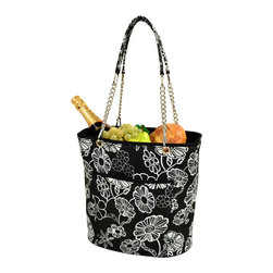 Picnic at Ascot - Insulated Cooler Tote With Chain Handle - Features: