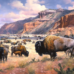 Murals Your Way - Goodnight's Legacy Wall Art - Painted by Jack Sorenson, the Big Cat wall mural from Murals Your Way will add a distinctive touch to any room