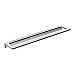 "WS Bath Collections - Asio 1360.204.60 Towel Bar 23.6"" - Asio 1360.204.60, 23.6"" x 3.3"", Towel Bar in Polished Chrome"