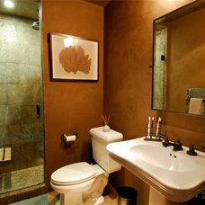 Mediterranean Bathroom by Urban Landscape