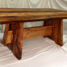 Rustic Dining Tables by IRONWOOD CUSTOM WOODWORKS LTD