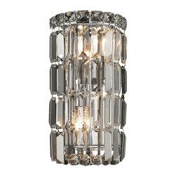 Elegant Lighting - Elegant Lighting 2030W6C/RC Maxim Collection Wall Sconce - Elegant Lighting 2030W6C/RC Maxim Collection Wall Sconce