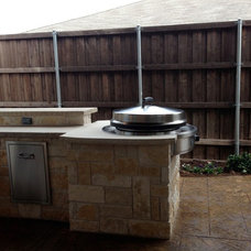 Traditional Patio by Curb Creations, Inc