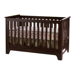 Pali Designs - Pali Designs Presto 3 in 1 Convertible Crib - 9500-M - Shop for Cribs from Hayneedle.com! Parents and kids alike will marvel at the ingenious design of the Pali Designs Presto 3 in 1 Convertible Crib. This crib is not only easy to assemble and store but can also easily be converted into a child's day bed. The mattress can be positioned at two levels which allows your crib to remain safe and secure for your growing child. The classic slat design is given a contemporary feel thanks to its fluid rounded edges. The spring mattress and all necessary hardware are included.About PaliFor Pali the process of designing and producing high-quality furniture isn't just business it's personal. As a family-owned business four generations have guided Pali through almost 100 years of innovation technology development and production. In 1919 every piece of furniture was crafted by hand in the workshop; today Pali has utilized their expertise and knowledge of fine handmade chairs to produce beautifully designed cribs dressers and other bedroom furnishings. In their quest to create high-quality furniture that stands the test of time Pali is dedicated to reducing the amount of composite wood products and sourcing their solid substrates from sustainable easily harvested resources in Europe New Zealand and Southeast Asia. Pali takes this commitment seriously; every drawer box is constructed with solid wood and finished with English dovetailing and solid wood corner blocks for superior quality and durability. Their attention to detail commitment to quality and dedication to protecting our planet's resources makes Pali stand out as a leader in their industry and a company that can be entrusted with your child's safety.