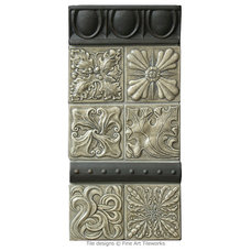 Traditional Tile by Fine Art Tileworks — Handmade Relief Tile