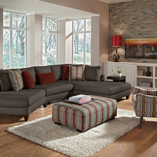 Contemporary Living Room by Furniture.com