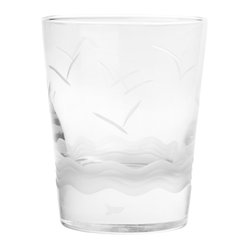 Seabreeze Double Old-Fashioned Glass, Set of 4