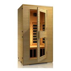 JNH Lifestyles - JNH Lifestyles Vivo 1-2 Person Far-Infrared Sauna - Product Description