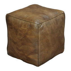 EuroLux Home - New Cube Natural Leather Wood SA-1188 - Product Details