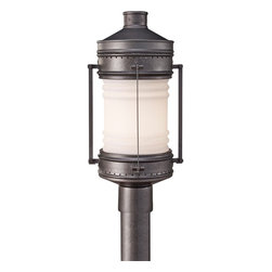 Feiss - Feiss OL9107OLC Dockyard 1 Light Oil Can Outdoor Post Mount - Finish: Oil Can