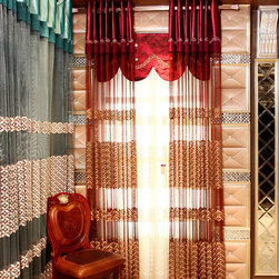 Customized Curtains in Pink and Red Color - Ulinkly is for affordable custom-made luxurious window curtains. We partner exclusively with top premium factories(top 1-2 sellers in international market) selling high-end custom-made curtains with top quality and hundreds high-end styles (Drapery, Voile and Valance) selection in North America.
