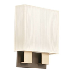 Kichler - Kichler Santiago Wall Sconce in Champagne - Shown in picture: Kichler Sconce 2Lt Fluorescent ADA in Champagne