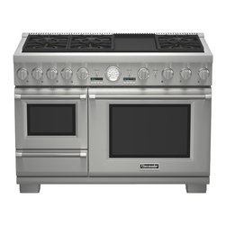 "Thermador 48"" Pro Grand Steam Dual-fuel Range, Stainless Steel 
